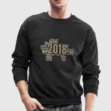 congratulate happy new year - Crewneck Sweatshirt