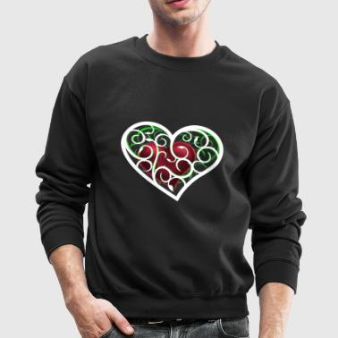 Heart ornamental - Crewneck Sweatshirt