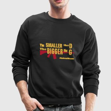 The Smaller the D - Crewneck Sweatshirt