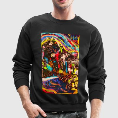 abstract - Crewneck Sweatshirt