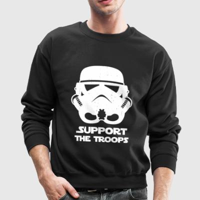 SUPPORT THE TROOPS - Crewneck Sweatshirt