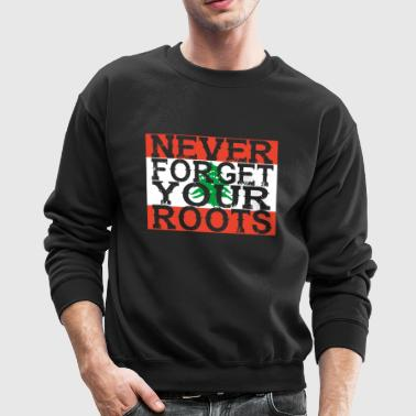 never forget roots home Libanon - Crewneck Sweatshirt