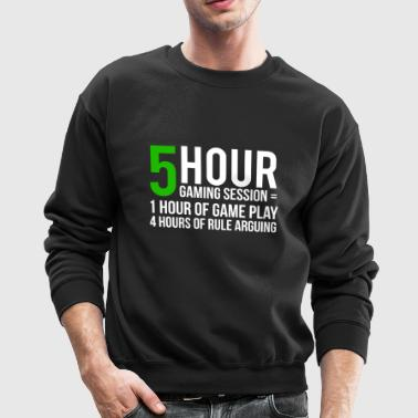 Gaming Session Funny Video Game T-shirt - Crewneck Sweatshirt