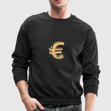 Currency, euro - Crewneck Sweatshirt