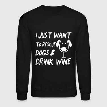 Rescue dogs rescue dog rescue animal welfare shelt - Crewneck Sweatshirt