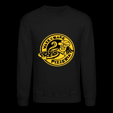 WAKE & BAKE PIZZERIA - Crewneck Sweatshirt