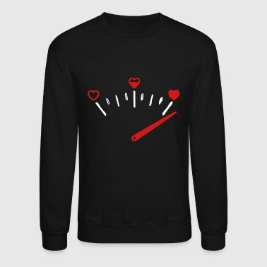 love speedometer - Crewneck Sweatshirt