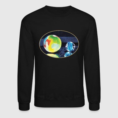 Marble Light - Crewneck Sweatshirt