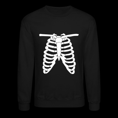 Costume - Skeleton Ribcage Halloween Costume An - Crewneck Sweatshirt