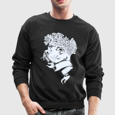 Pitbull Head - Crewneck Sweatshirt