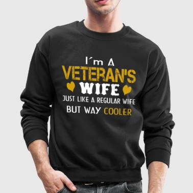 Veteran's Wife - Crewneck Sweatshirt