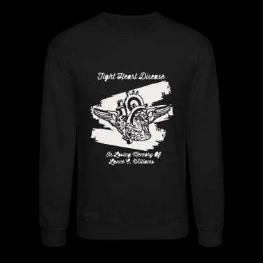 Fight heart disease - Crewneck Sweatshirt