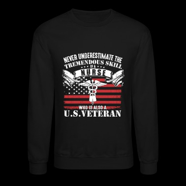 Afghanistan - nurse who is also a US Vet - Crewneck Sweatshirt