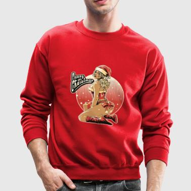 Merry Christmas Sexy Santa Girl - Crewneck Sweatshirt
