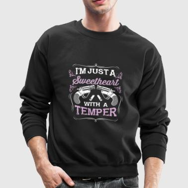 Southern Girls State Country Sweetheart temper fun - Crewneck Sweatshirt