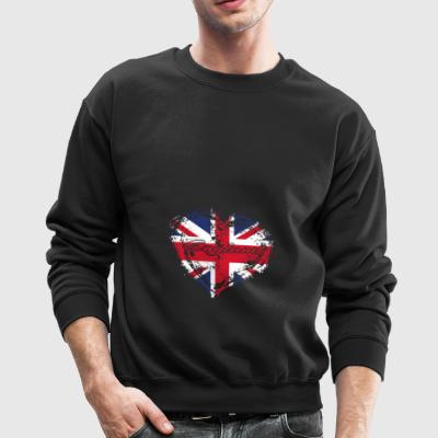 HOME ROOTS COUNTRY GIFT LOVE England - Crewneck Sweatshirt