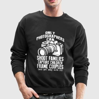 Photographer T Shirt - Crewneck Sweatshirt