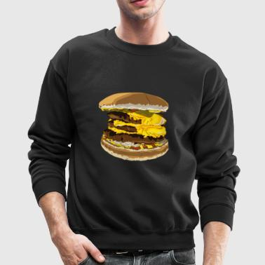Cheeseburger - Crewneck Sweatshirt