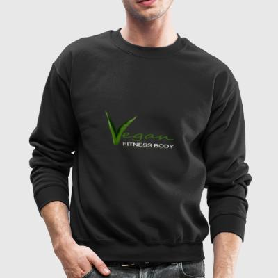 Vegan Fitness Body - Crewneck Sweatshirt