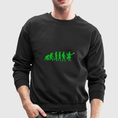 Funny Evolution St Patrick's Design - Crewneck Sweatshirt