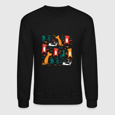 Cat fishing - Crewneck Sweatshirt