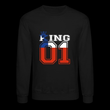 land partner king 01 prince Chile - Crewneck Sweatshirt