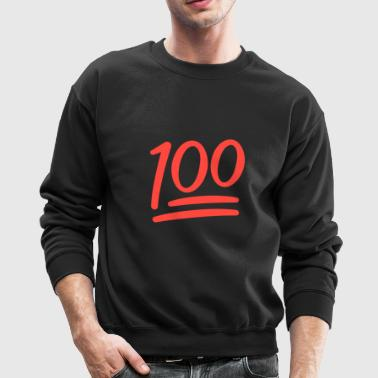 100 Posts - Crewneck Sweatshirt