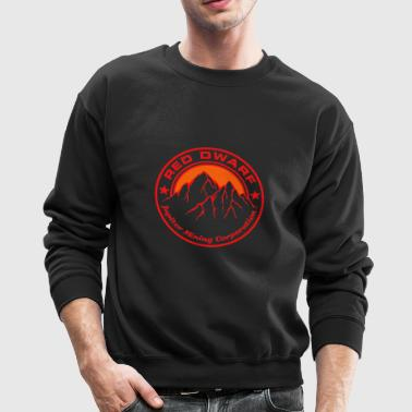red dwarf logo - Crewneck Sweatshirt