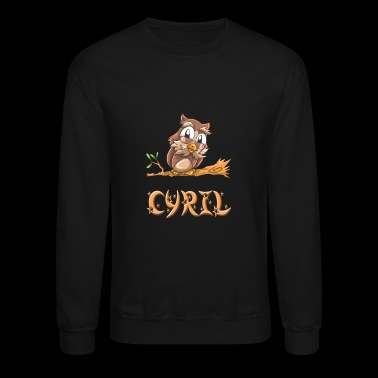 Cyril Owl - Crewneck Sweatshirt
