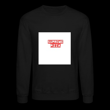 Supreme Pizza Tee - Crewneck Sweatshirt