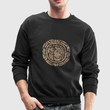 maya head - Crewneck Sweatshirt