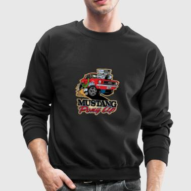 Ford Mustang Colour - Tshirt - Crewneck Sweatshirt