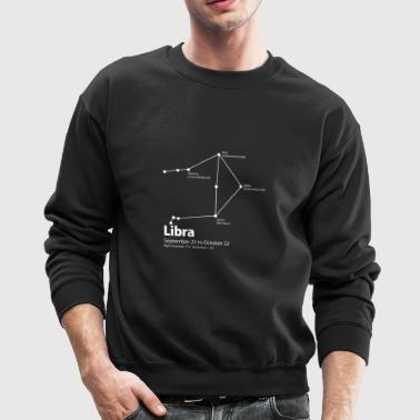 Libra Constellation - Crewneck Sweatshirt