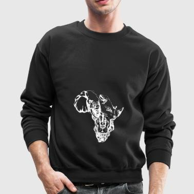 AFRICAN MAP - Crewneck Sweatshirt