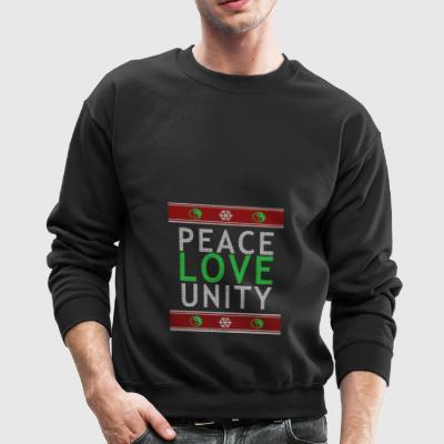 Peace Love Community Pullover Sweatshirt - Crewneck Sweatshirt