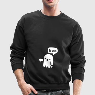 Ghost Of Approval Tee Funny Boo Ghost T-Shirt - Crewneck Sweatshirt