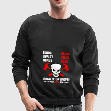 roofer, roof, roofing - gift - Crewneck Sweatshirt