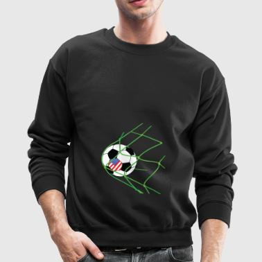 Soccer Player Gate Vintage USA Gift - Crewneck Sweatshirt