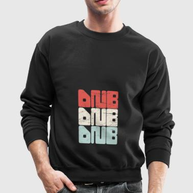 Vintage DNB Music Text - Crewneck Sweatshirt