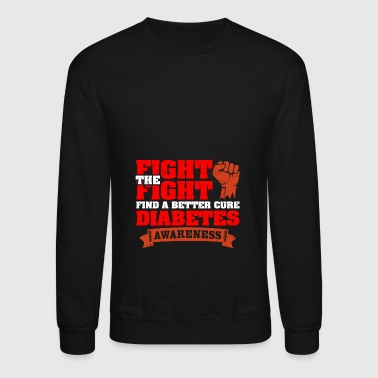 Fight The Fight for Diabetes T-shirt - Crewneck Sweatshirt