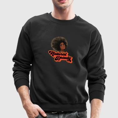 Natural Hair Beauty with Glasses - Crewneck Sweatshirt