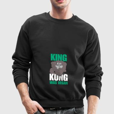 king kong (white) - Crewneck Sweatshirt