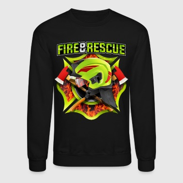 Fire and Rescue - Crewneck Sweatshirt
