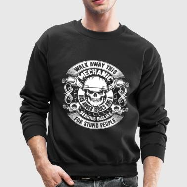 Badass Mechanic Shirt - Crewneck Sweatshirt
