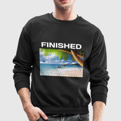 Beach Puzzle Finished - Crewneck Sweatshirt