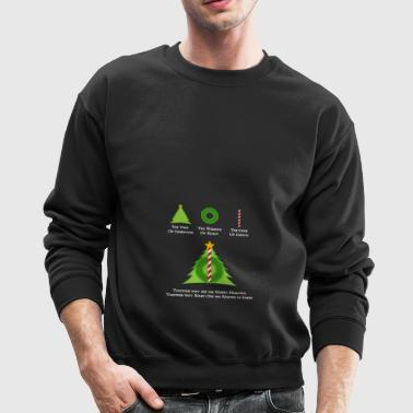 Harry Potter and the Merry Hallows White Text Ed - Crewneck Sweatshirt