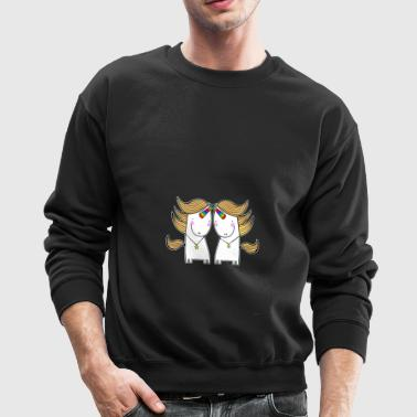 Uni And Una T shirt - Crewneck Sweatshirt