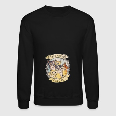 CATS AGAINST - Crewneck Sweatshirt
