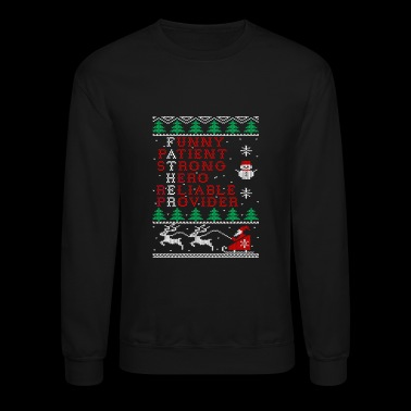 Father - Christmas sweater cool gift for fathers - Crewneck Sweatshirt