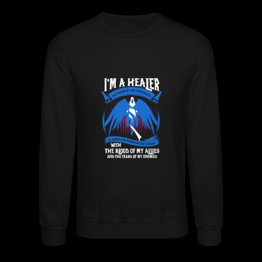 Healer - My hands and bandages are stained - Crewneck Sweatshirt